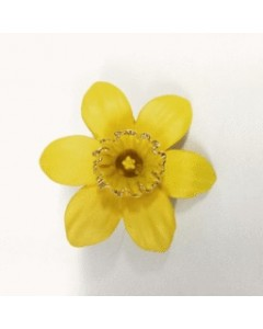 18ct Gold Plated Medium Daffodil Brooch B6611 Gold